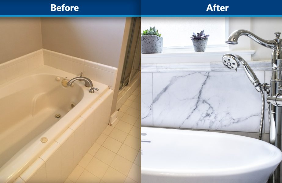 master bathroom remodeling Nashville before and after